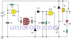 Este circuito detector de lluvia con 4093B, da el aviso de el momento en que se inicia la lluvia para evitar algunas situaciones o favorecer otras.