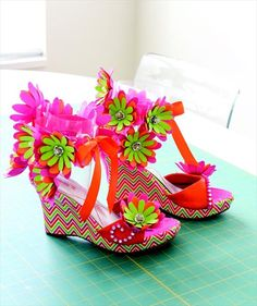 4 Easy DIY Duct Tape Shoes Ideas | 101 Duct Tape Crafts