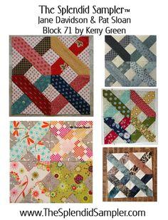 Block 71 – First Stitch