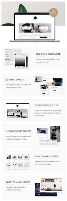 Download Chloe – A Personal Blog & Shop WordPress Theme (Personal)