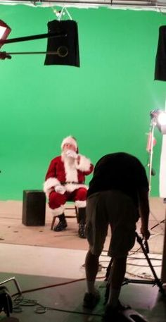 commercial - Hot on the set