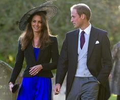 Before they were engaged, Catherine and Prince William attended the 2010 wedding of Harry Meade and Rosie Bradford.