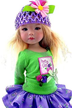 "~Pretty Girl!~Outfit for 13"" Effner Little Darling by Sharon"