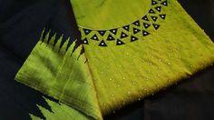 To customize, whatsapp 9043230015 for Saree, Blouse and Kurtis Embroidery On Kurtis, Kurti Embroidery Design, Embroidery Neck Designs, Embroidery Works, Indian Embroidery, Embroidery Dress, Zardozi Embroidery, Embroidery Stitches, Chudi Neck Designs