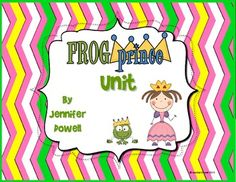 "Frog Prince Unit. This unit includes activities to do with the fairy tale ""The Frog Prince"" and ""The Frog Prince Continued"" by Jon Scieszka. $"