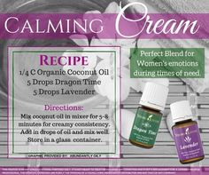 Calming Cream - Dragon Time and Lavender