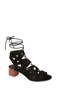 Rebecca Minkoff 'Issa' Lace-Up Sandal (Women) available at #Nordstrom