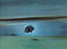 The eye. Salvador Dali
