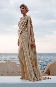 Grecian-style witch's robes (Edward Arsouni)
