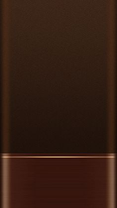 Brown with Gold Trim Wallpaper