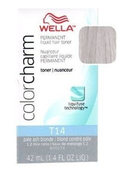 Wella Color Charm Toner - -T14 - Pale Ash Blonde 1.4 oz. (Pack of 6) *** Click on the image for additional details.