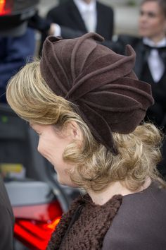 Queen Mathilde, February 18, 2014 | The Royal Hats Blog