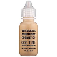 Obsessive Compulsive Cosmetics - OCC Tint: Tinted Moisturizer  #sephora