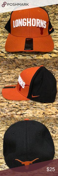 c0b677cc70c Texas Longhorns Nike Swooshflex Cap Sleek and sassy