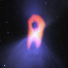 The Boomerang Nebula is the coldest known object in the universe at one degree Kelvin (minus 458 degrees Fahrenheit). It is colder, in fact, than the natural background temperature of space.