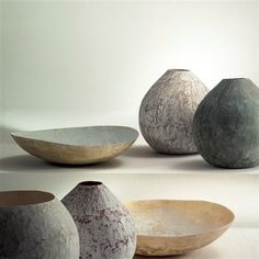 Il laboratorio dell imperfetto    description    Handmade fiberglass plates and bowls. Beautiful forms for interior and/or exterior seating. Different dimensions. Please contact us for more information.    state: New - Fiberglass