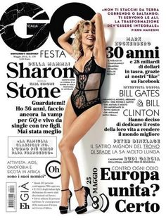 Magazine photos featuring Sharon Stone on the cover. Sharon Stone magazine cover photos, back issues and newstand editions. Magazine Gq, Gq Magazine Covers, Magazine Wall, Italy Magazine, Magazine Design, Magazine Photos, Magazine Spreads, Sharon Stone, Emma Stone