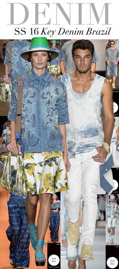 Jeans branco é tendência para as próximas estações