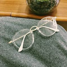 Look cute and smart at the same time with this fashion eyewear. Choose among three frame colors - clear, black, pink - or get them all to match your various outfits. This lightweight eyeglass is desig #WomensFashionOutfits