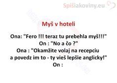 Myš v hoteli - Spišiakoviny.eu