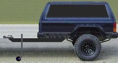 Custom XJ Trailer Concept - Jeep Cherokee Forum