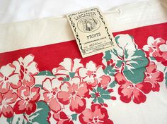 vintage Springmaid tablecloth Lancaster Prints never by brixiana, $45.00