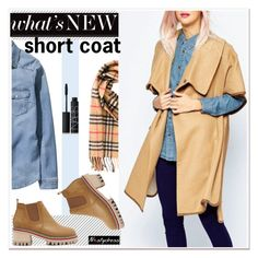 """short coat"" by paculi ❤ liked on Polyvore featuring moda, H&M, Burberry, NARS Cosmetics e nastydress"
