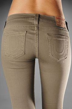 True Religion khaki legging