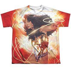 Wonder Woman: Wonder Glow Sublimated Youth T-Shirt