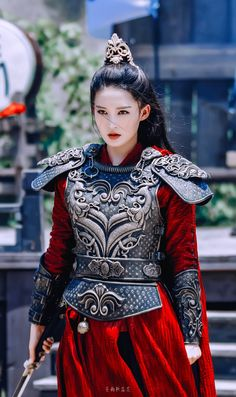 Warrior Outfit, Warrior Girl, Princess Outfits, Princess Weiyoung, Girl Outfits, Geisha, Traditional Fashion, Traditional Outfits, Dramas