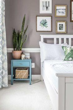 Our Modern Boho Master Bedroom Reveal Kate Decorates Modern Boho Master Bedroom, Master Bedroom Makeover, Small Room Bedroom, Home Decor Bedroom, Bedroom Ideas, Bedroom Makeovers, Upstairs Bedroom, Master Bedrooms, Bedroom Designs