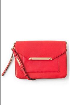 NEW Stella & Dot Tia Cross Body Clutch Cerise Red RV$98