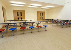 Altro Timbersafe installed in an educational setting. - www.altro.com