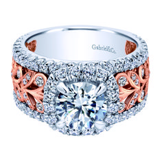 This ring is ready to sashay down the runway  and still be fit for a bride.