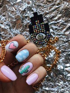 Minimalist Nails, Summer Acrylic Nails, Best Acrylic Nails, Chic Nails, Trendy Nails, Nail Swag, Girls Nails, Pink Nails, Matted Nails
