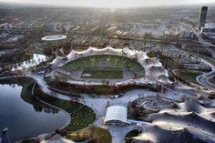 Olympic Park / Munich, 1972 / Günter Behnisch (1922-2010)