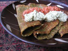 Cheela - Savoury Indian mung bean pancakes   #vegan #glutenfree recipe via Full Circle   Looks amazing!