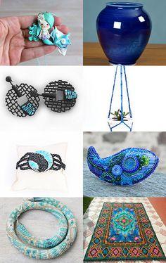 Magic Blue !  by Mila on Etsy--Pinned with TreasuryPin.com