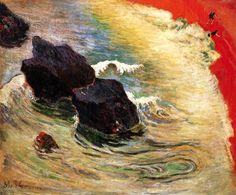 The Wave Paul Gauguin - 1888