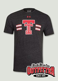 7016d9bf7b5 Under Armour® 2014 Legacy Throwback Charcoal Tee Shirt  RedRaiderOutfitter   TexasTech  RedRaiders