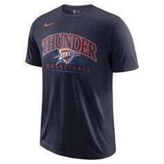 013ccf5d7523e Oklahoma City Thunder Nike Dri-FIT Men's NBA T-Shirt Size L (College Navy). Chicago  Bulls ...
