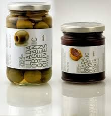 Simple and delicious! Pitted Olives, Kalamata Olives, Olive Paste, Non Organic, Organic Farming, Packaging, Olive Oils, Denmark, Label
