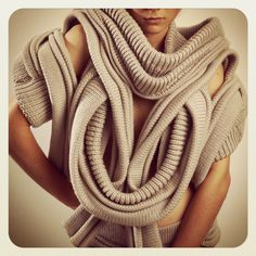 knitters - Student Wool Exhibition by Katherine Mavridis - Campaign for Wool, Australia
