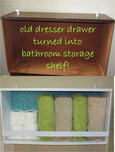 uses for old dresser drawers, part 1 More