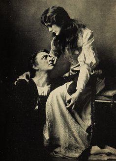 John Barrymore & Mary Astor, probably in Don Juan or Hamlet