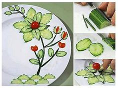 food art / what a nice plate presentation!