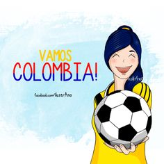 Vamos Colombia Colombia Memes, Colombia Soccer, Chi Chi, Ecuador, Colombian Art, Sweet Girls, South America, World Cup, Portugal