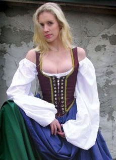 Tavern Wench Garb: Renaissance Costumes, Medieval Clothing, Madrigal Costumes by The Tudor Shoppe