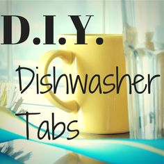 Make dishwasher tablets easy and cheap!!! From- One Ash Farm & Dairy Homestead
