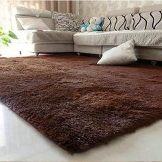 Anti-slip 80x120cm Thick Large Floor Carpets For Living Room Modern Area Rug